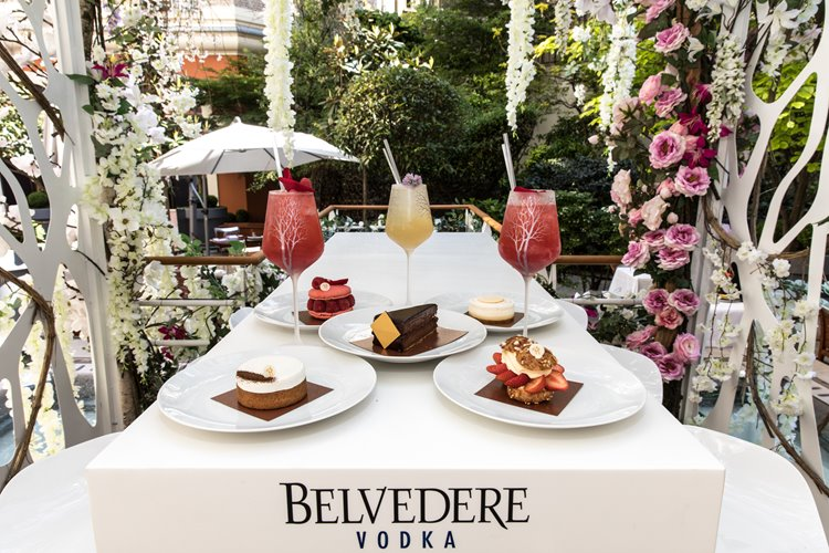 Коктейльное меню в Belvedere отеля Le Royal Monceau – Raffles Paris