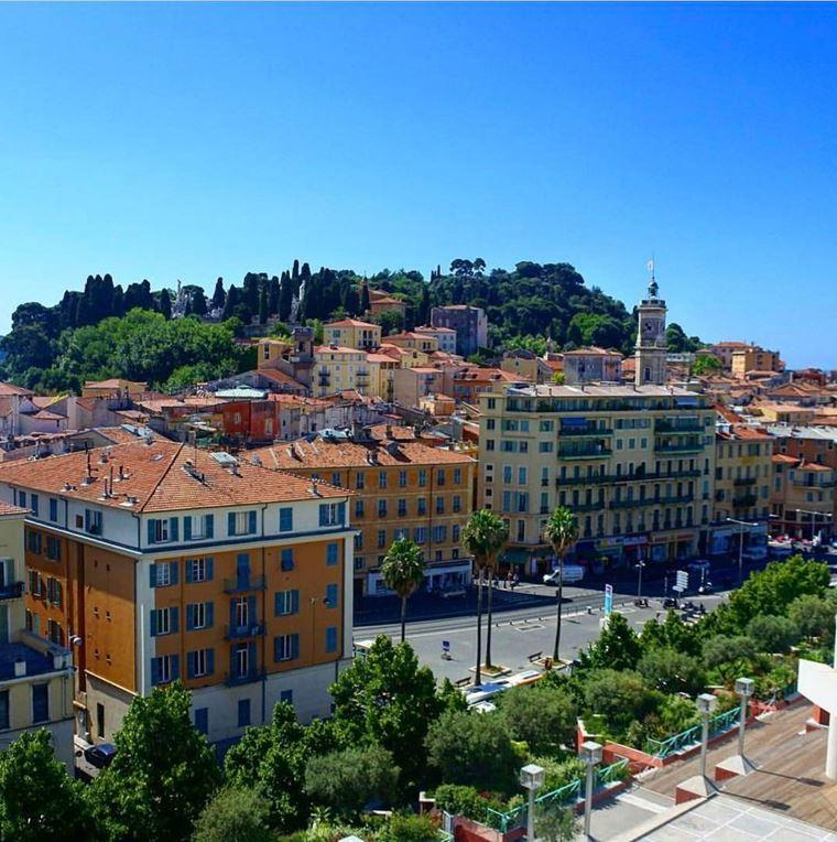 Города южной Франции на побережье Средиземного моря: Ницца