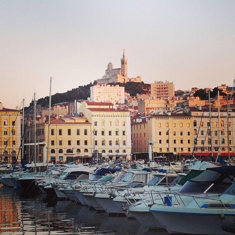 Города южной Франции на побережье Средиземного моря: Марсель