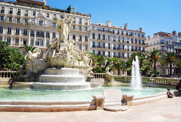Города южной Франции на побережье Средиземного моря: Тулон