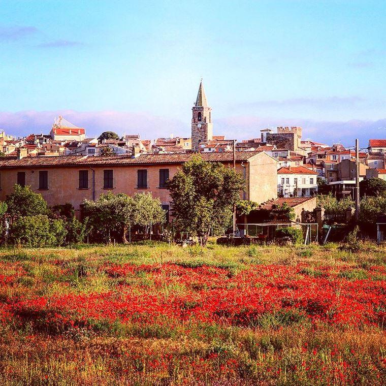 Города южной Франции на побережье Средиземного моря: Фрежюс