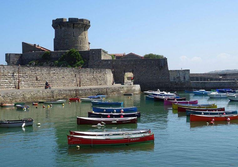 Города западной Франции на побережье Атлантического океана: Сен-Жан де Люз