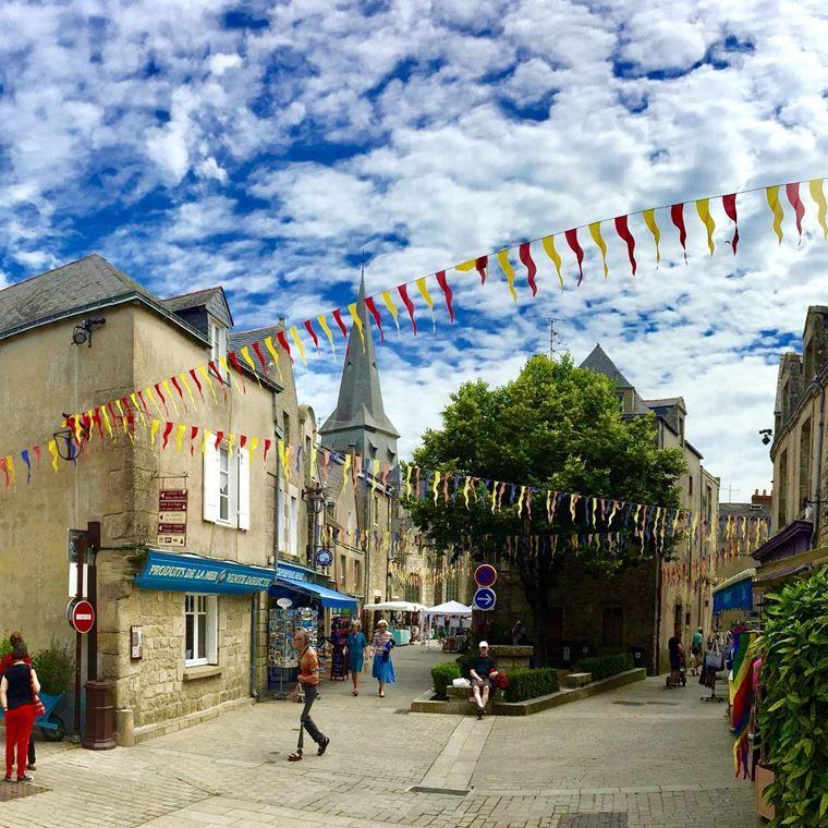 Города западной Франции на побережье Атлантического океана: Геранд