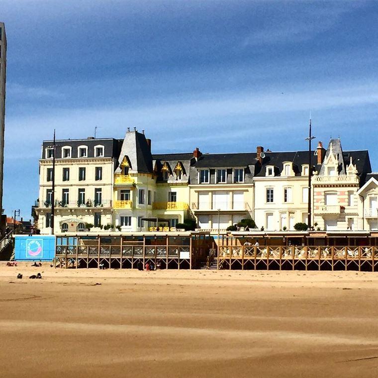 Города западной Франции на побережье Атлантического океана: Ле-Сабль-д'Олон