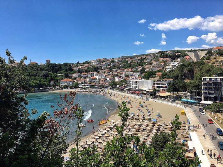 Курортные города Черногории на побережье: Улцинь