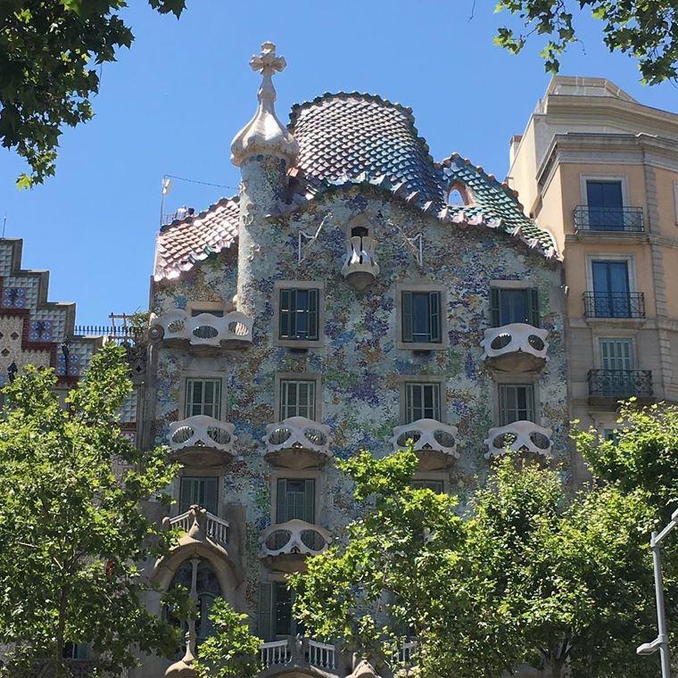 Курортные города Испании на побережье Средиземного моря: Барселона