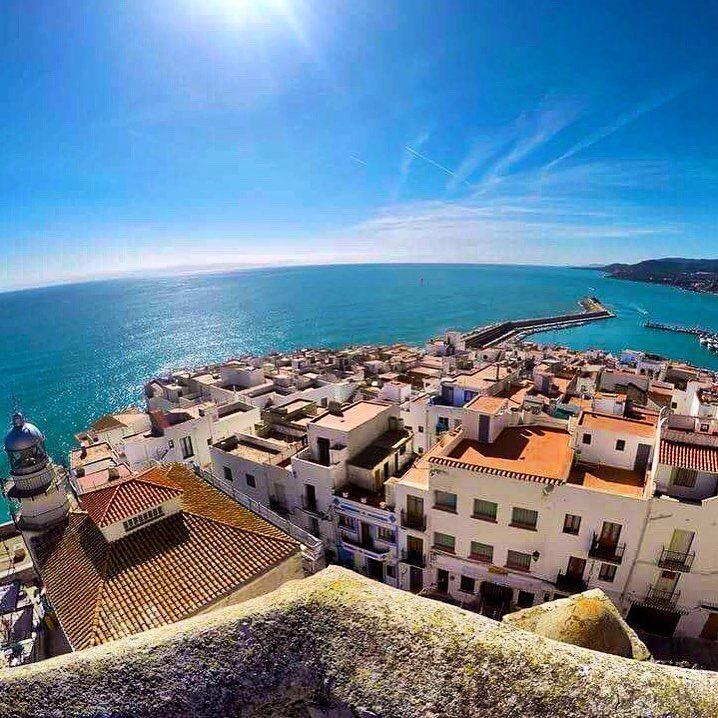 Курортные города Испании на побережье Средиземного моря: Пеньискола
