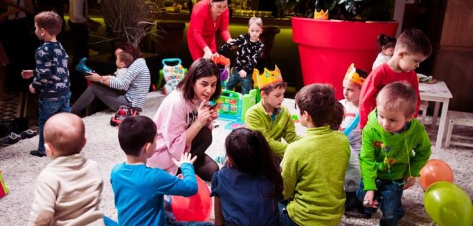 Летние каникулы для детей в ресторане Valenok