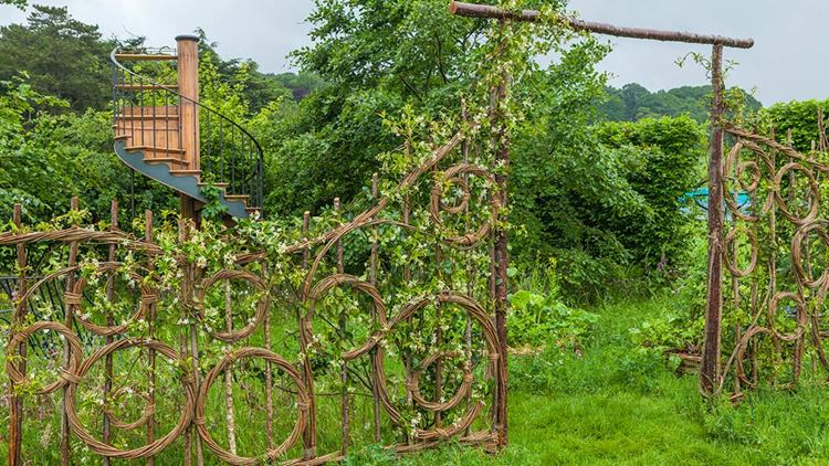Belmond Enchanted Gardens на шоу RHS Chatsworth Flower Show в Дербишире