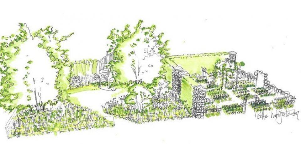 Belmond Enchanted Gardens в рамках королевского цветочного шоу