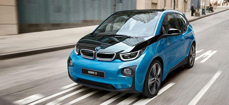 автомобиль BMW i3