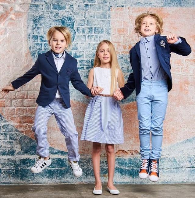 Детский показ брендов Choupette и Pablosky
