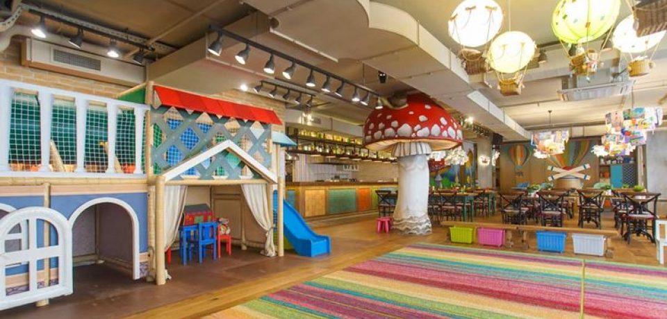 В ресторане «Кувшин» открылся детский зал «Кувшинчик»