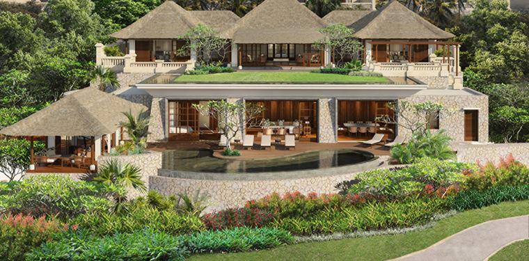 Four Seasons Resort Bali at Jimbaran Bay - вилла с бассейном