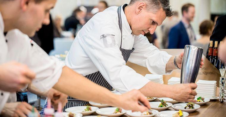 Звездные шеф-повара на мастер-классе The Epicure в отеле The Dolder Grand