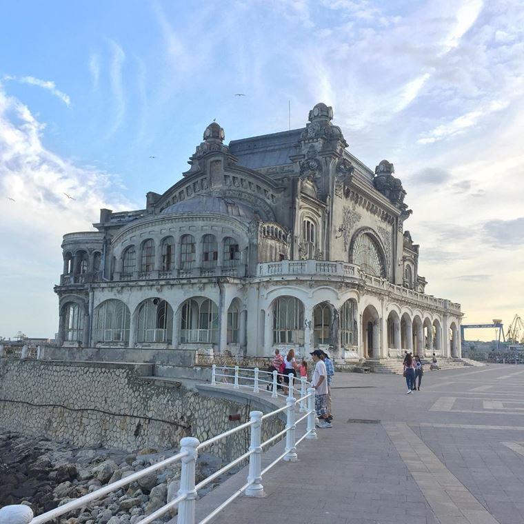 Города-курорты черноморского побережья: Констанца