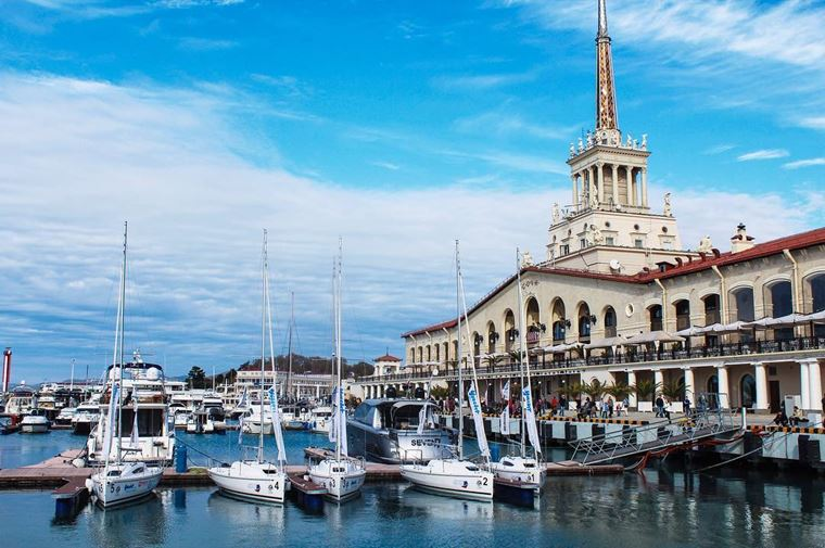 Города-курорты черноморского побережья: Сочи