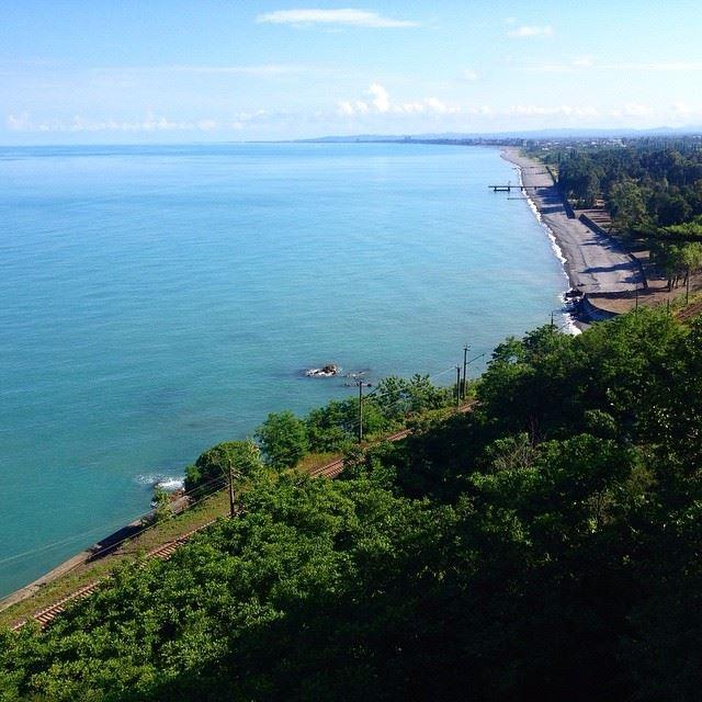 Города-курорты черноморского побережья: Кобулети