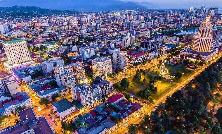 Города-курорты черноморского побережья: Батуми
