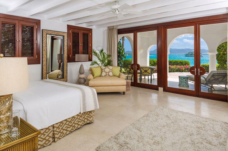 Курортный отель Belmond Cap Juluca на Карибах: интерьер номеров