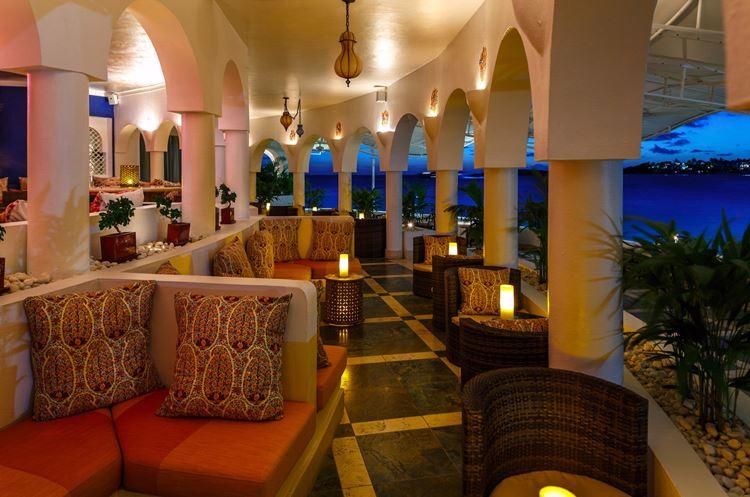 Курортный отель Belmond Cap Juluca на Карибах: терраса