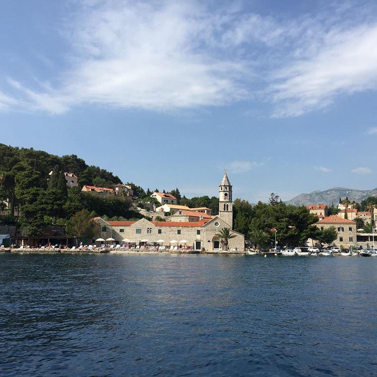 Курортные города Хорватии на побережье: Цавтат