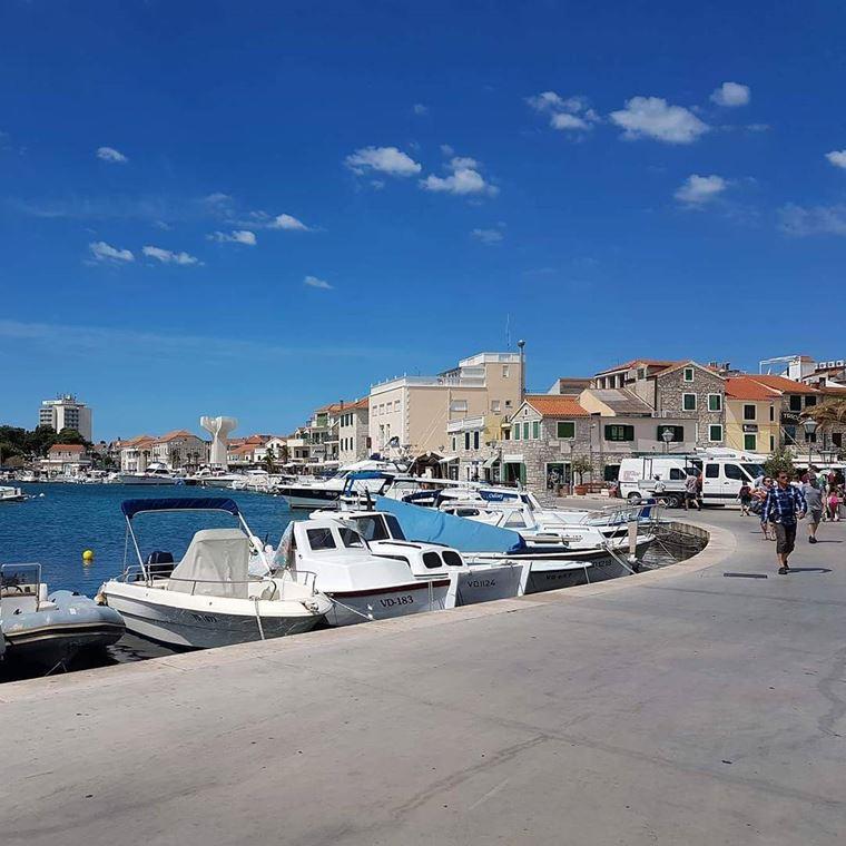 Курортные города Хорватии на побережье: Водице