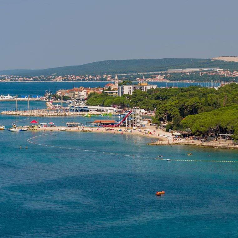 Курортные города Хорватии на побережье: Биоград-на-Мору