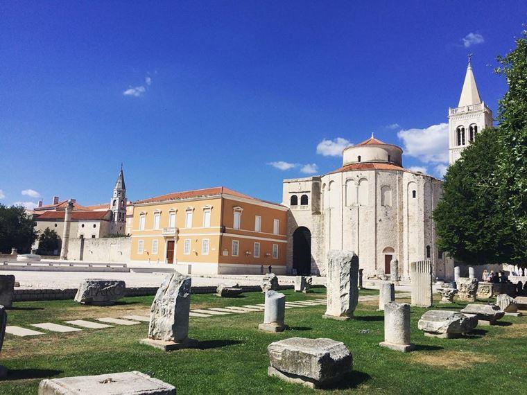 Курортные города Хорватии на побережье: Задар