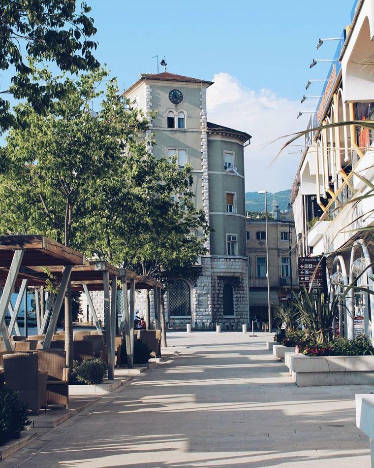 Курортные города Хорватии на побережье: Цриквеница
