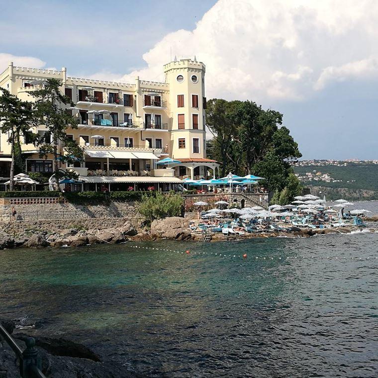 Курортные города Хорватии на побережье: Опатия