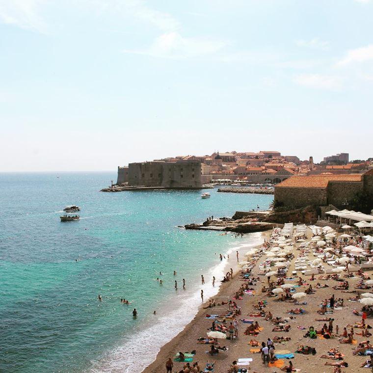 Курортные города Хорватии на побережье: Дубровник
