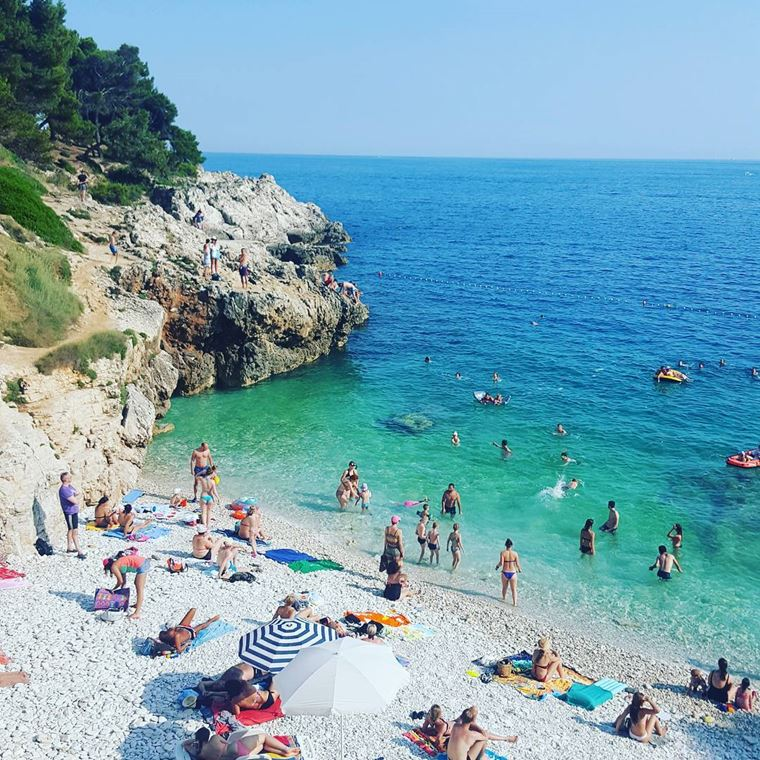 Курортные города Хорватии на побережье: Пула