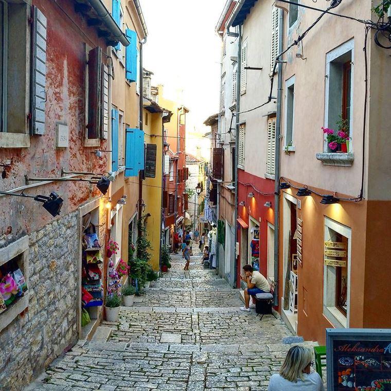 Курортные города Хорватии на побережье: Ровинь