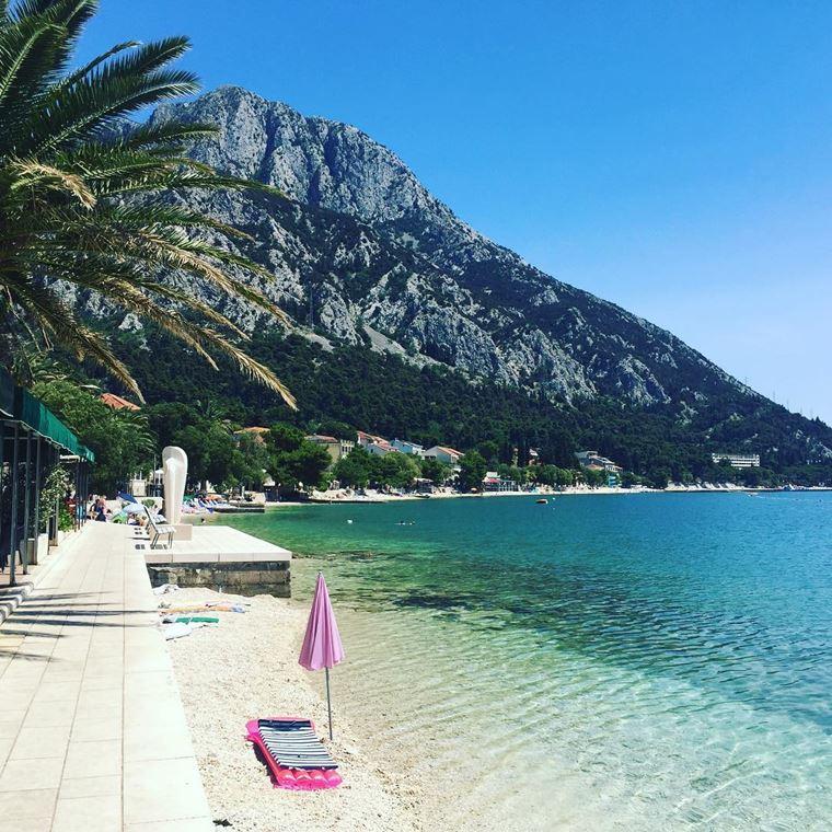 Курортные города Хорватии на побережье: Градац