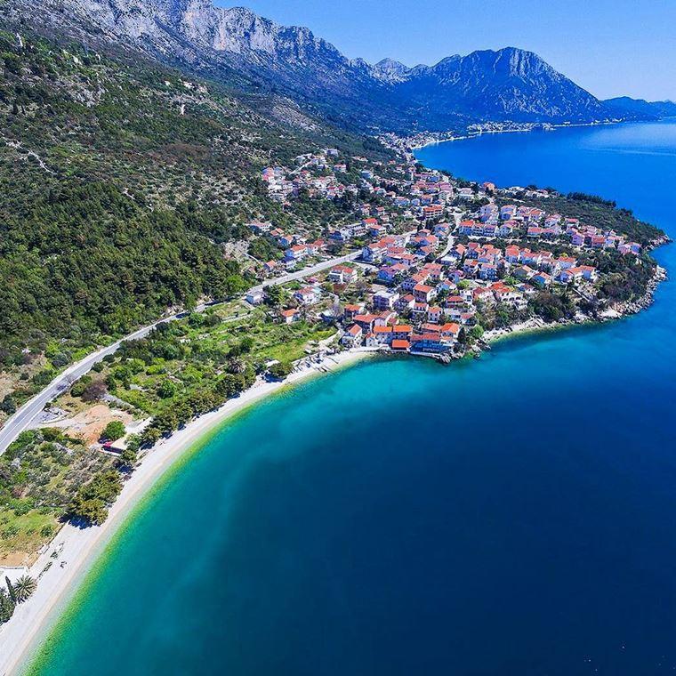 Курортные города Хорватии на побережье: Подаца