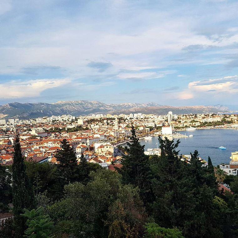 Курортные города Хорватии на побережье: Сплит