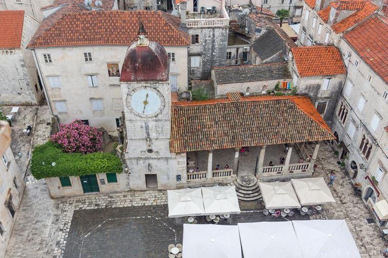 Курортные города Хорватии на побережье: Трогир