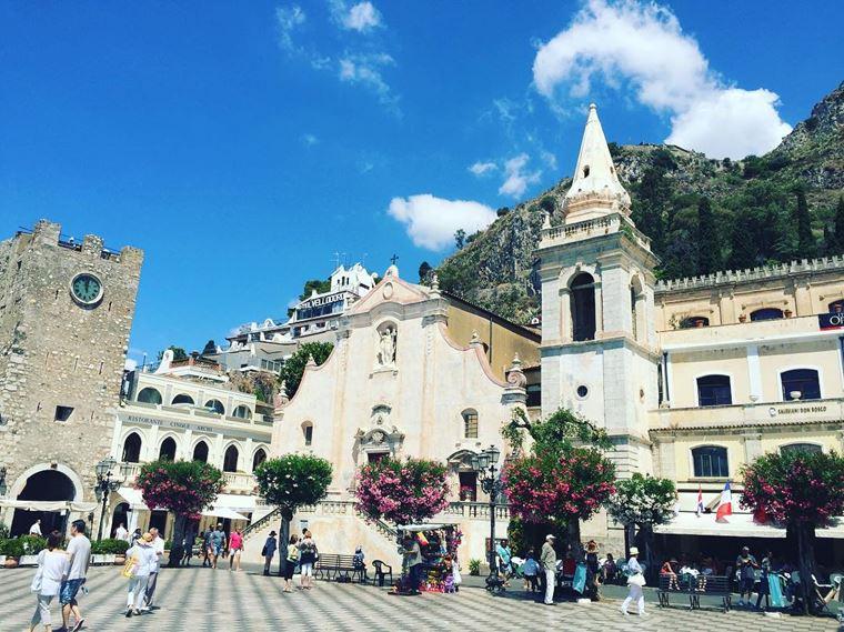 Курортные города Италии на побережье: Мессина
