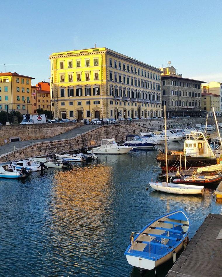 Курортные города Италии на побережье: Ливорно