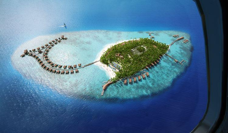 St. Regis Maldives Vommuli - вид сверху