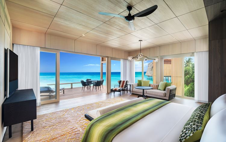 St. Regis Maldives Vommuli - номер люкс