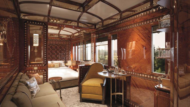 Поезд Venice Simplon-Orient-Express представляет новые купе Grand Suites