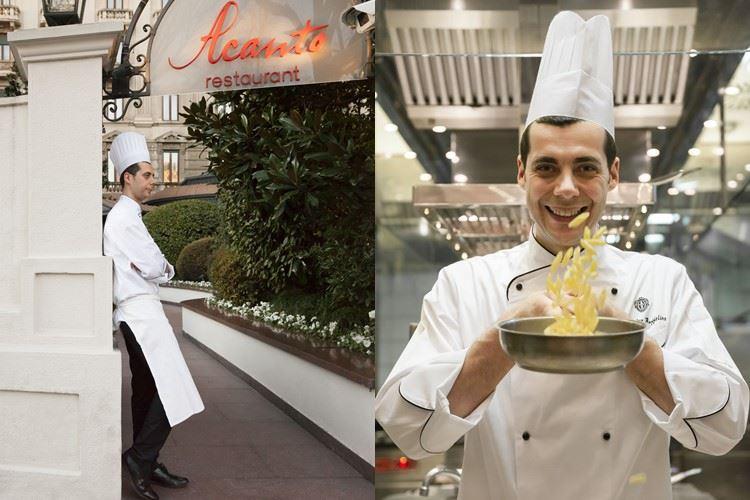 Ресторан Acanto отеля Principe Di Savoia: шеф-повар Алессандро Буффолино