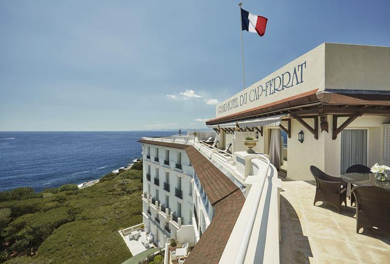 Grand-Hôtel du Cap-Ferrat на лазурном берегу