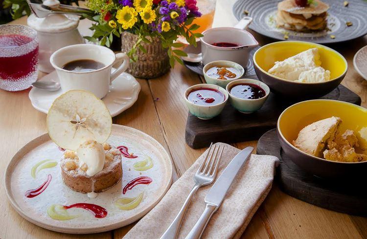 Ресторан русской кухни «Матрёшка»: запеканка с лесными орехами