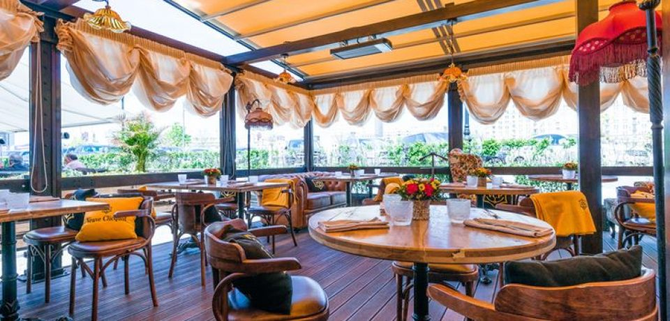 Ресторан «Матрёшка» открывает летнюю веранду