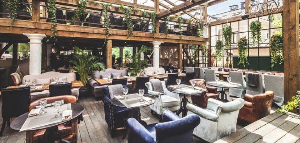 Ресторан Modus официально открывает летнюю веранду