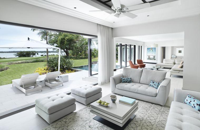 Four Seasons Resort Mauritius at Anahita - белый дизайн интерьера