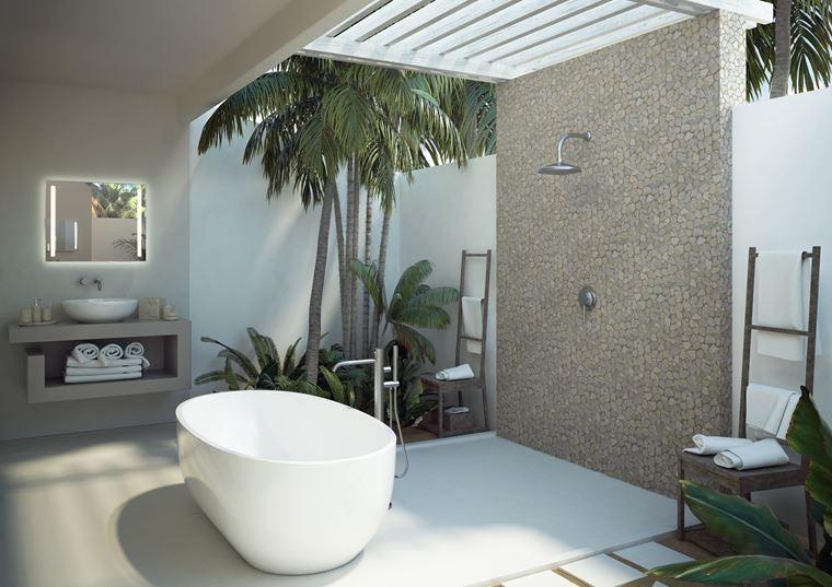 Курорт Baglioni Resort Maldives - ванная комната на вилле